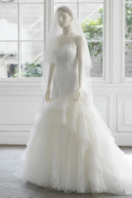 1310 WEDDINGDRESS KUROE 写真画像